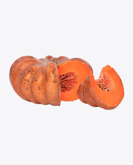 Sliced Pumpkin and Slice