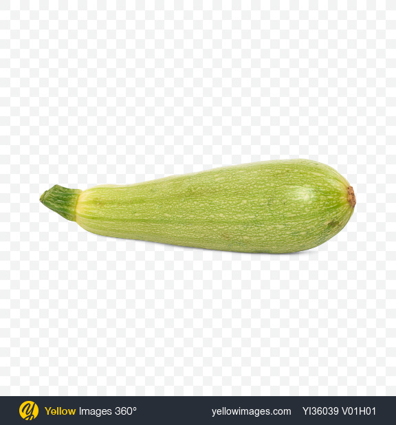 Download Zucchini Transparent PNG on Yellow Images 360°