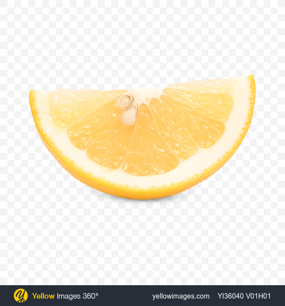 Download Yellow Grapefruit Slice Transparent PNG on Yellow Images 360°