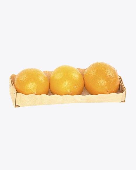 Orange Lemons in Basket