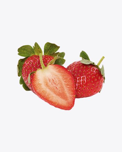 Strawberries and Half