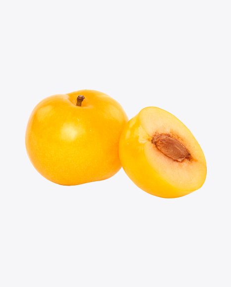Yellow Plum and Half