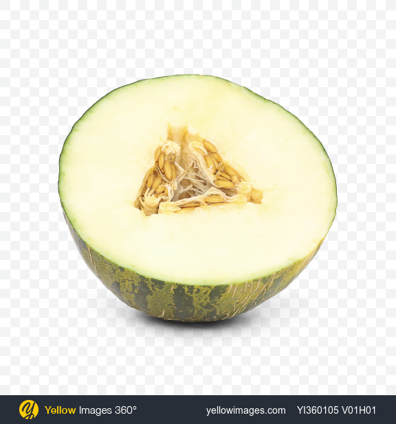 Download Half of Melon Transparent PNG on Yellow Images 360°