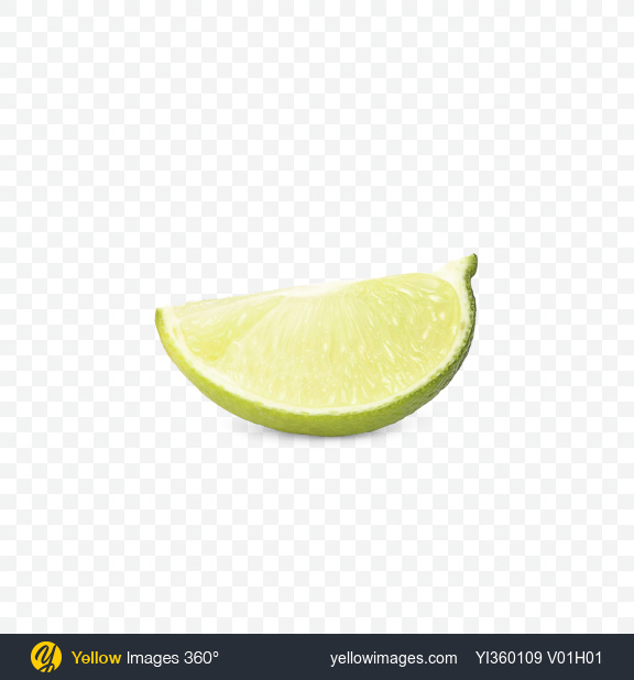 Download Slice of Lime Transparent PNG on Yellow Images 360°