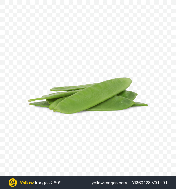 Download Snow Peas Transparent PNG on Yellow Images 360°