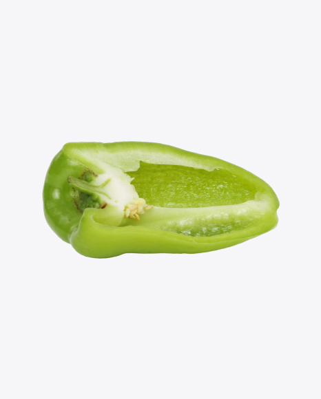 Half of Green Pepper