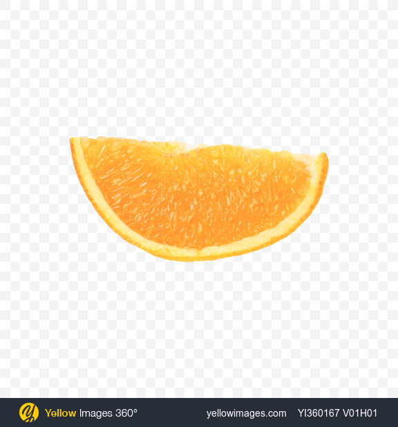 download orange slice transparent png on yellow images 360