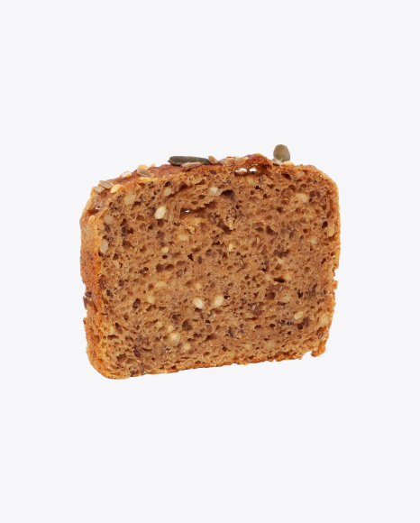 Slice of Bread with Seeds
