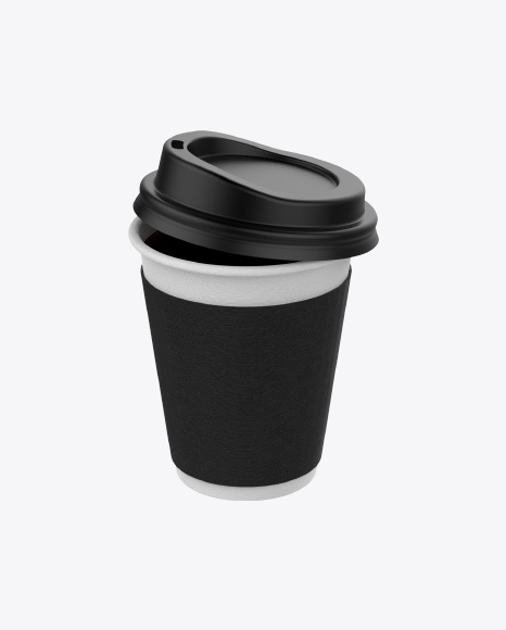 Small Coffee Cup with Lid