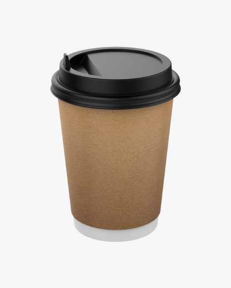 Medium Craft Paper Coffee Cup
