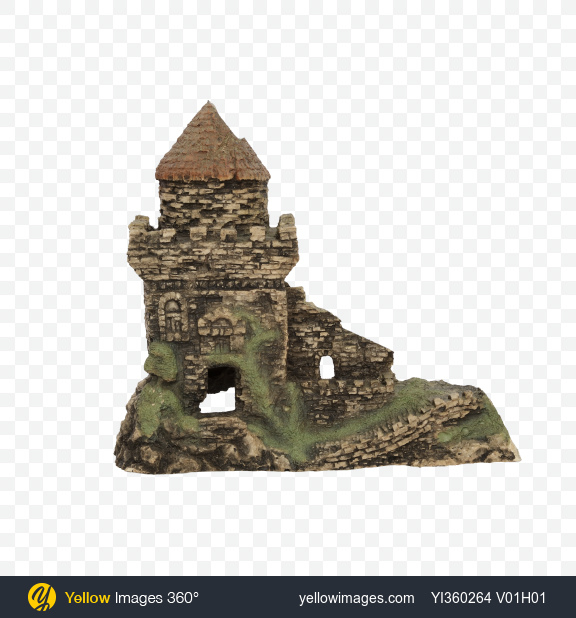 Download Fish Castle Transparent PNG on Yellow Images 360°