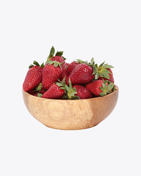 Strawberries in Bowl