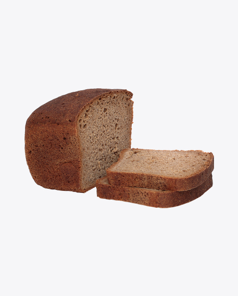 Rye Bread Half and Slices