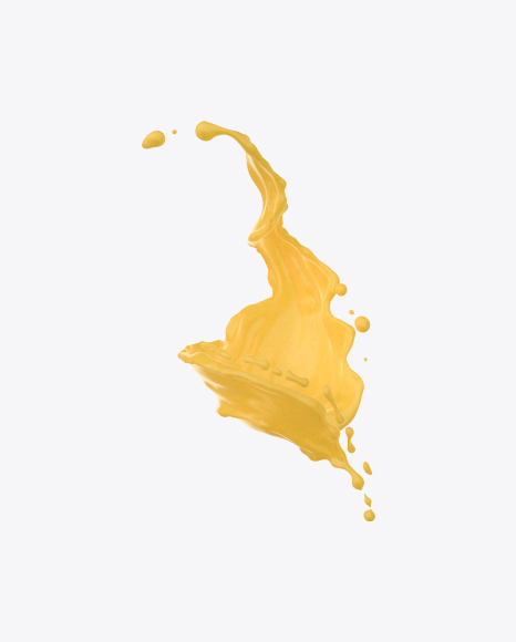 Mustard Twisted Splash
