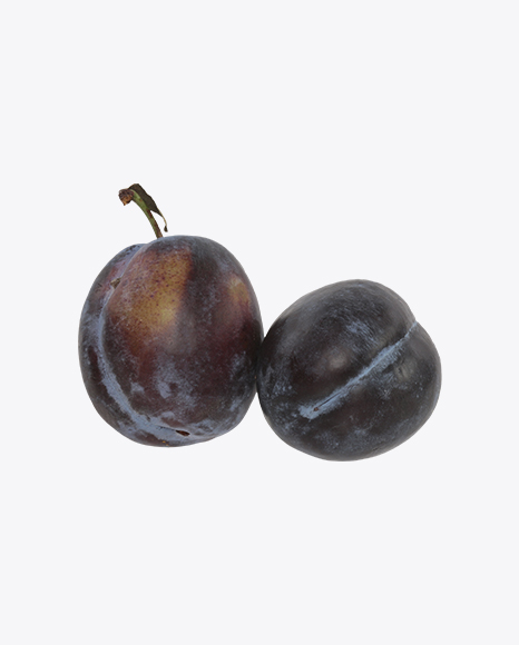 Two Blue Plums