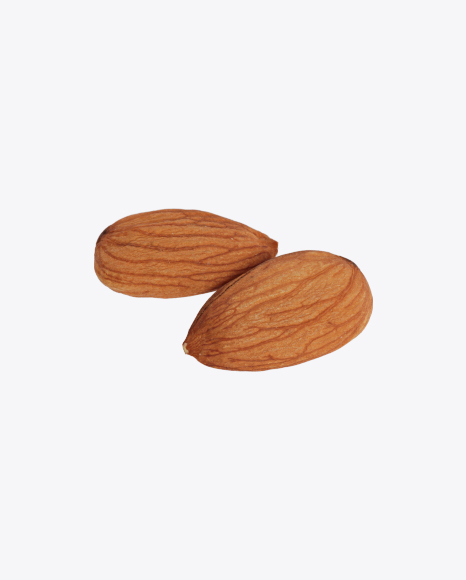 Two Shelled Almonds