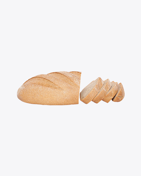 Wheat Bread Half and Slices