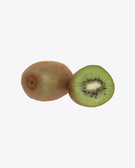 Kiwi Fruit and Half