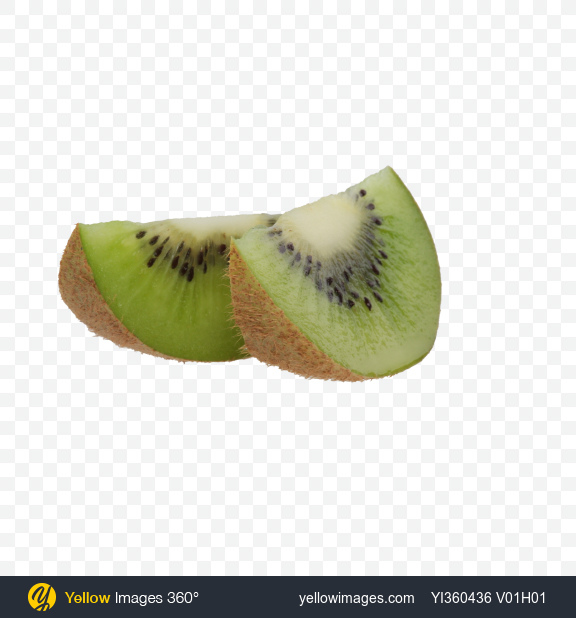 Download Kiwi Fruit Slices Transparent PNG on YELLOW Images