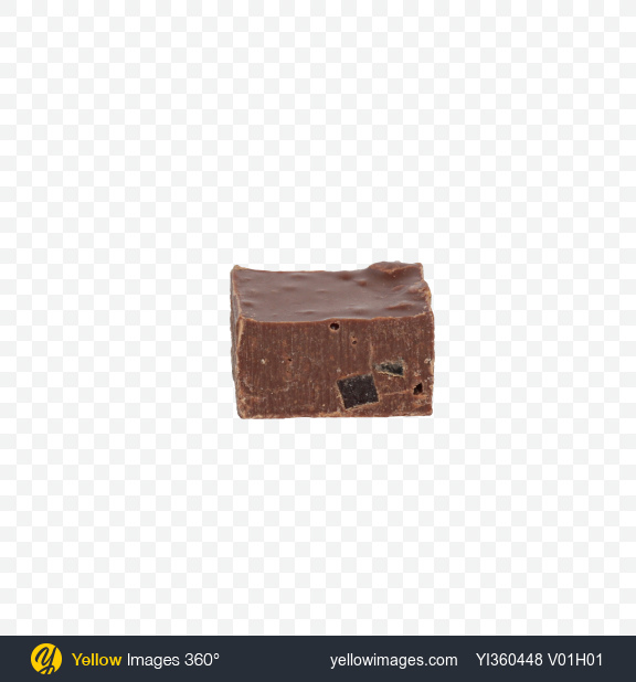 Download Milk Chocolate Piece Transparent PNG on Yellow Images 360°
