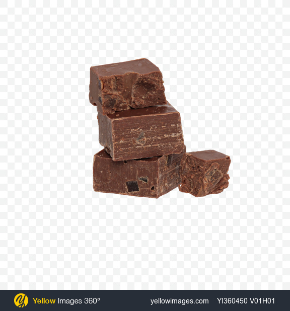Download Chocolate Pieces Transparent PNG on Yellow Images 360°