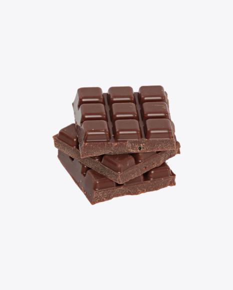 Three Milk Chocolate Bar Pieces