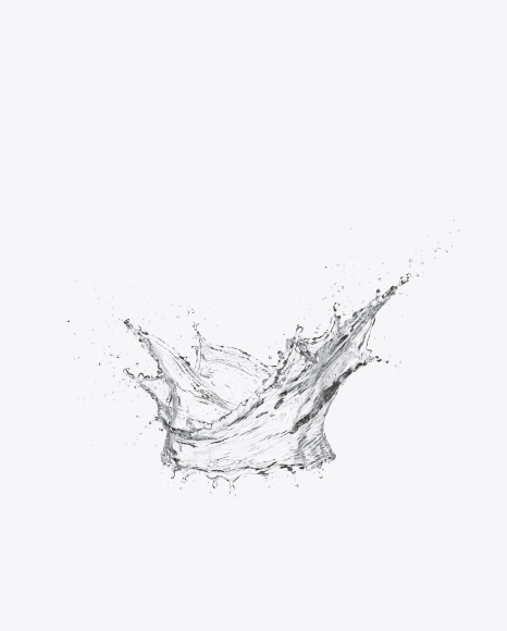 Crown Shaped Water Splash