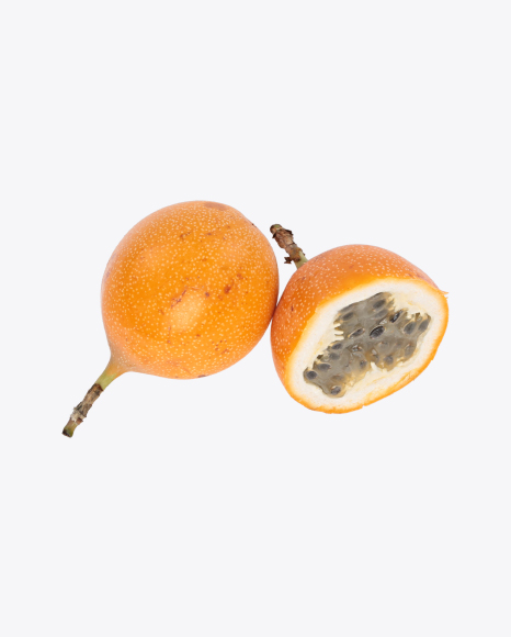 Granadilla Fruit and Half