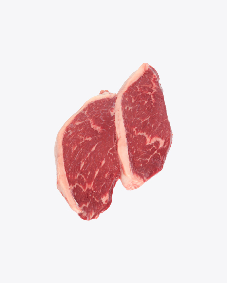 Two Marbled Beef Steaks