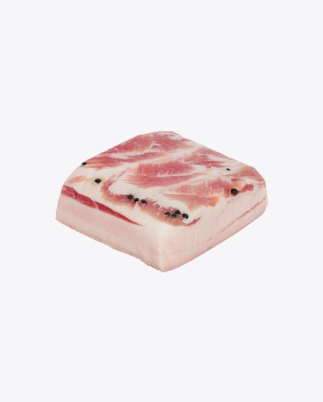 Pork Fatty Bacon with Pepper