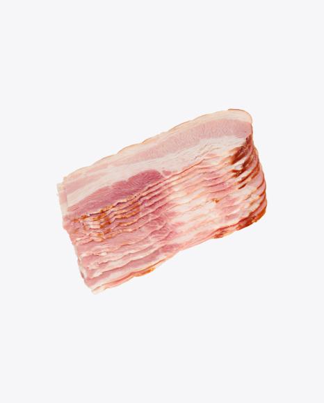 Smoked Pork Bacon Slices