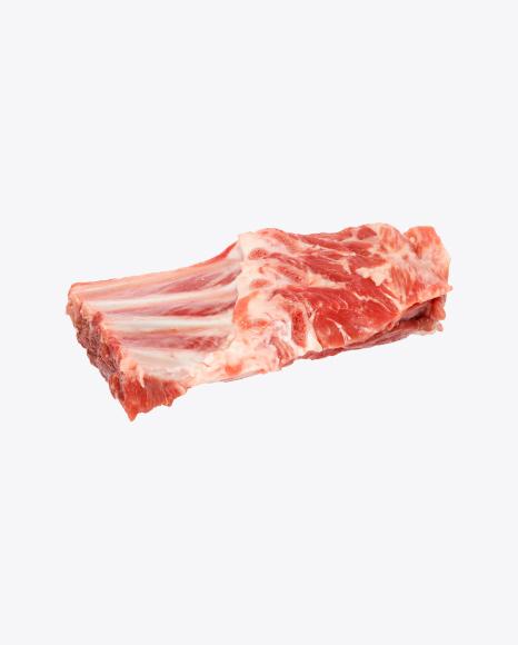 Raw Lamb Rack