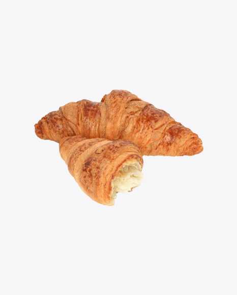 Croissant and Half