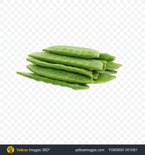 Download Snow Peas Bunch Transparent PNG on Yellow Images 360°