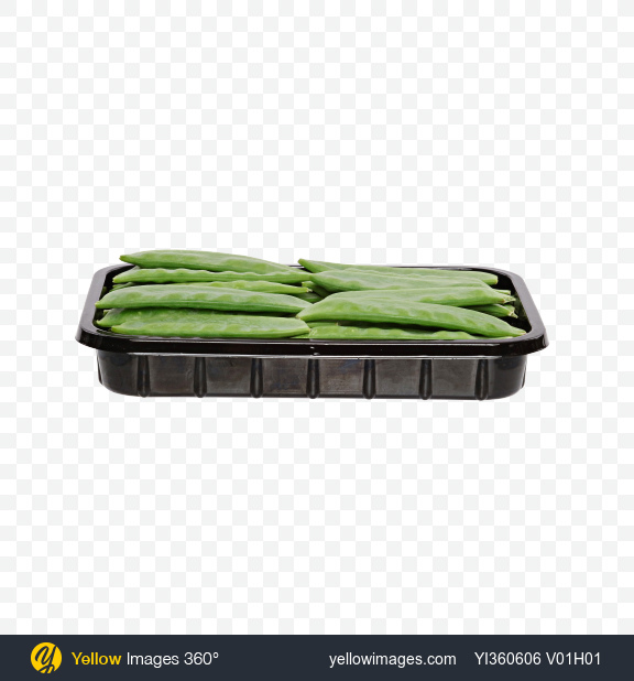 Download Snow Peas in Tray Transparent PNG on Yellow Images 360°