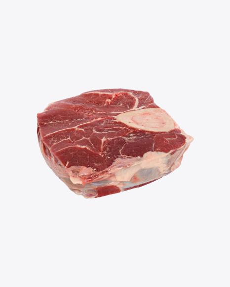 Sliced Beef Shin on the Bone