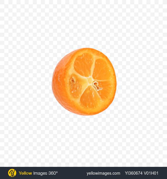 Download Kumquat Fruit Half Transparent PNG on Yellow Images 360°