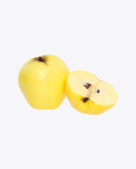Quince Fruit and Half