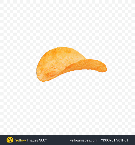 Download Potato Chip with Paprika Transparent PNG on YELLOW Images