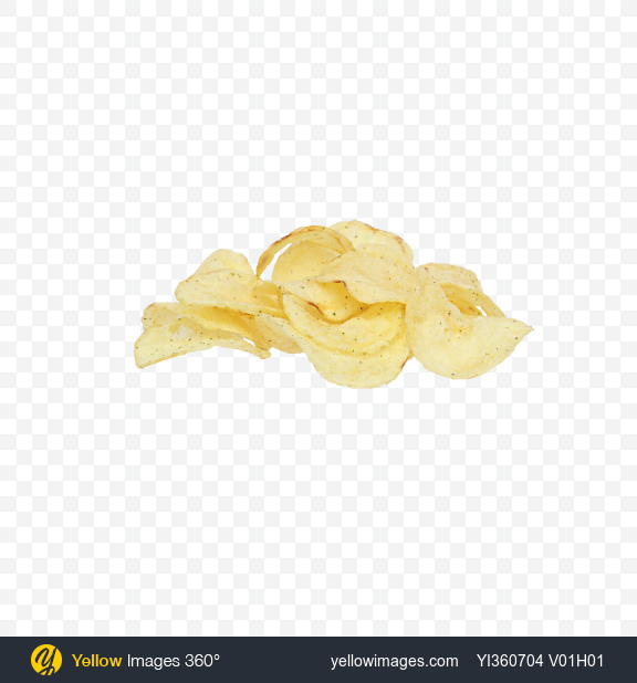 Download Bunch of Potato Chips with Herbs Transparent PNG on PNG Images