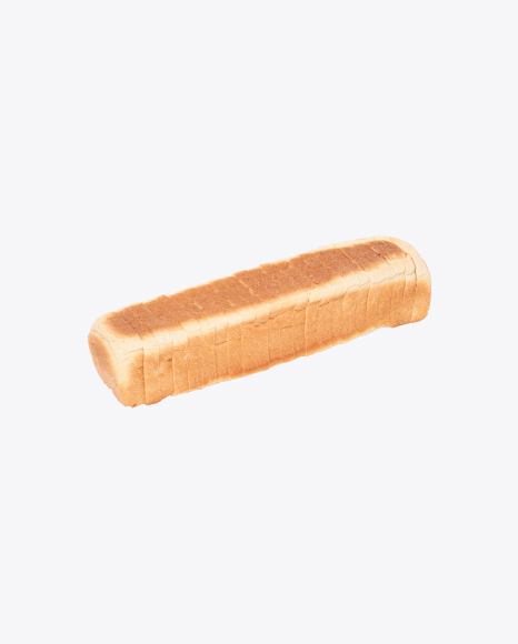 Sliced Loaf of Wheat Mini-Bread