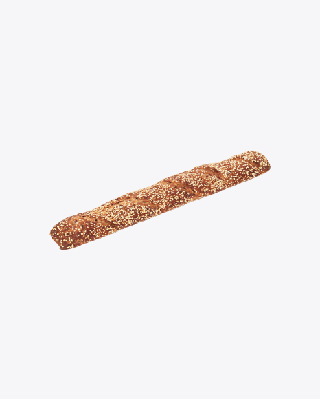 Rye-Wheat Baguette with Sesame Seeds