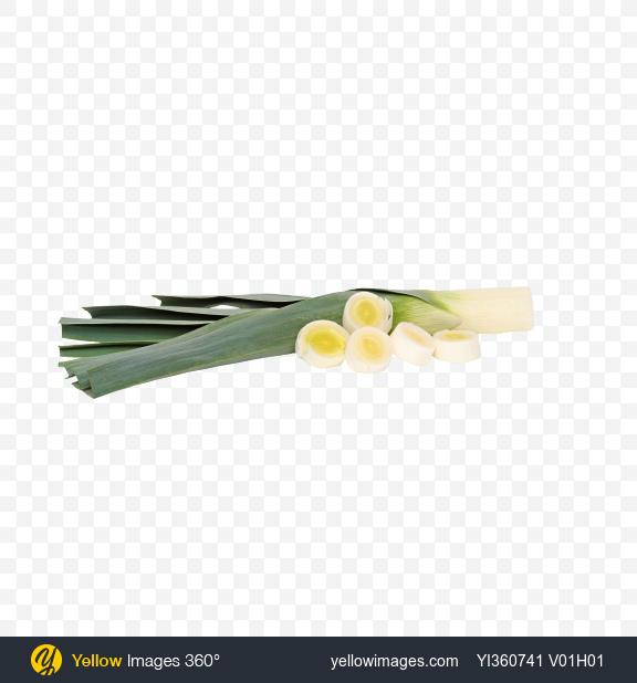 Download Trimmed Leek and Slices Transparent PNG on PNG Images