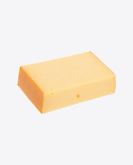 Block of Gouda Cheese