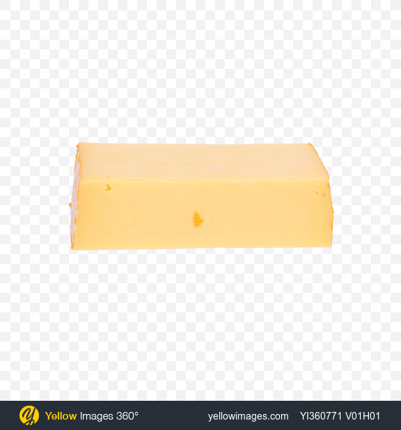 Download Block of Gouda Cheese Transparent PNG on YELLOW Images