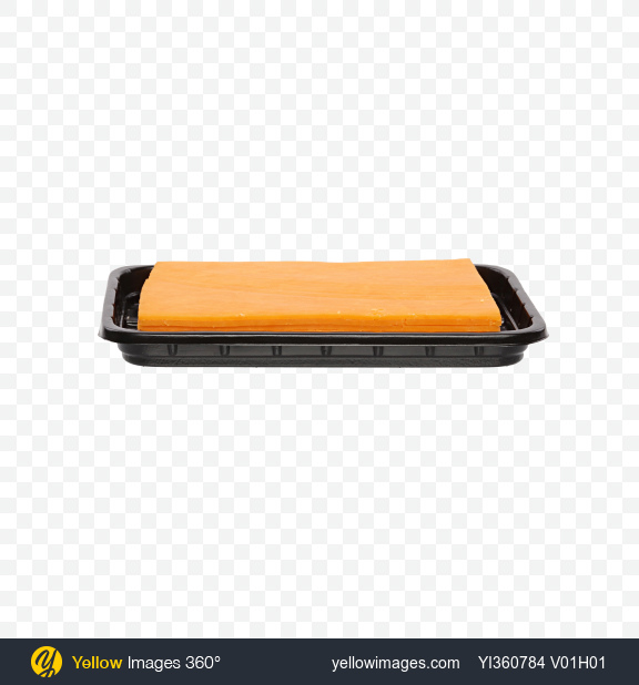 Download Cheddar Cheese Slices in Tray Transparent PNG on YELLOW Images