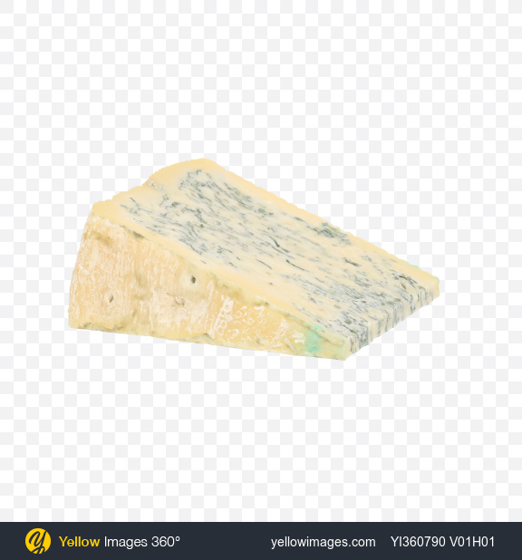 Download Blue Cheese Triangle Transparent PNG on Yellow Images 360°