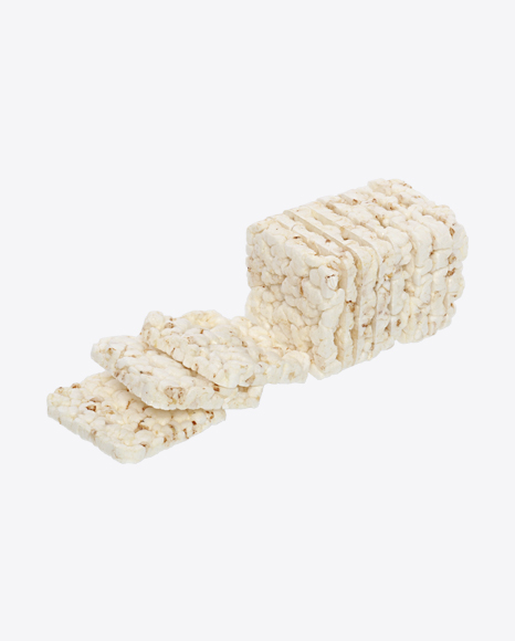 Rice Crispbreads with Sesame Seeds
