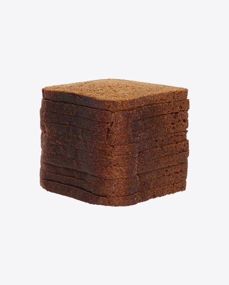 Slices of Wheat Rye Sandwich Bread