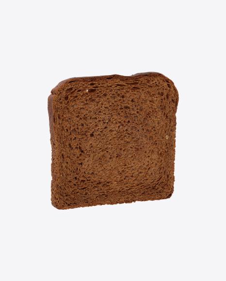 Slice of Wheat Rye Sandwich Bread